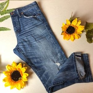 MADEWELL Cruiser Straight Denim Jeans Size 30